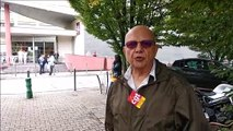 7ème mobilisation pour les grévistes de l'hôpital Lyon-Sud à Pierre-Bénite