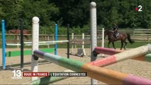 Innovation : une selle de cheval connectée made in France