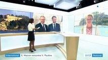International : Emmanuel Macron reçoit Vladimir Poutine dans sa résidence d'été avant le G7