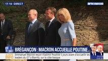 Vladimir Poutine est arrivé au Fort de Brégançon