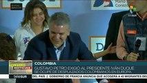 Senador Gustavo Petro exigió al pdte. haga algo por los desplazados
