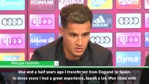 I didn't have any doubts - Coutinho on joining Bayern