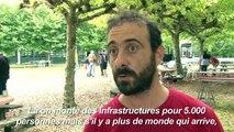 G7 de Biarritz: les premiers opposants plantent leurs tentes