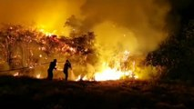 Gran Canaria wildfire rages out of control as 8,000 are evacuated