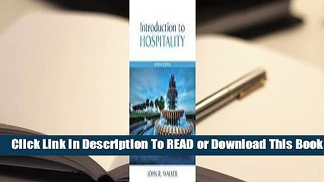 Full E-book Introduction to Hospitality  For Full