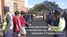 Zimbabwe: armée et police déployées à Bulawayo contre d'éventuels manifestants (2)