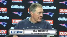 Bill Belichick On Josh Gordon Situation: 'Did You Get A Copy Of The Statement?'