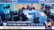 Le tête-à-tête entre Vladimir Poutine et Emmanuel Macron (2/2)