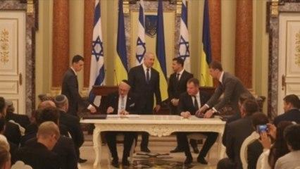 """Zelenski le pide a Netanyahu que reconozca como genocidio el """"Holodomor"""""""