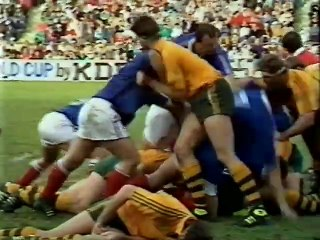 Australia v France 1987 Rugby Union World Cup Semi Final - Highlights