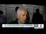 ¿Cuándo reabrirá el Centro Deportivo Olímpico Mexicano?   Noticias con Francisco Zea