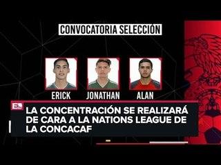 Revelan lista de convocados para la Selección Nacional