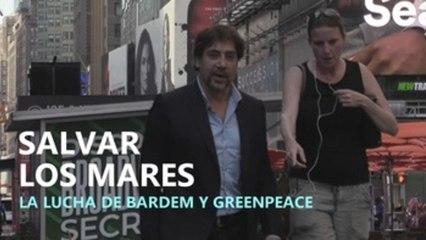Javier Bardem y Greenpeace piden en Nueva York un tratado para los océanos