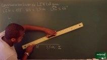 094 Triangles Construire un triangle connaissant une longueur et deux angles (3)