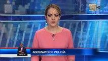 Policía asesinado tras detener una riña en Guayaquil