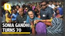 Congress Chief Sonia Gandhi Turns 70, We Wish Her A Happy Birthday