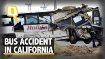 US Bus Accident : Was the Driver Speeding Away?