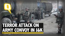 The Quint: Three Soldiers Killed After Army Convoy Attacked in Pulwama, J&K