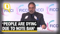 The Quint: Congress Attacks Jaitley on Note Ban Calls it a 'Disastrous Move'
