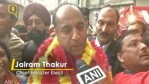 Jairam Thakur to be sworn in as Himachal Pradesh Chief Minister