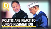 The Quint: Politicians React to Najeeb Jung's Resignation; Trade Charges