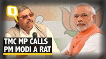TMC MP Calls PM Modi a Rat, Calls for a Revolution in West Bengal