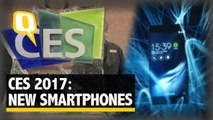 CES 2017: Smartphone Makers Unveil their New Products