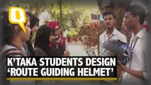 K'taka Students Design Bluetooth Enabled Route Guiding Helmet