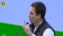 Congress President Rahul Gandhi's Closing Speech at Party's Plenary Session