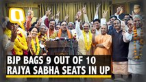BJP Bags 9 Out Of 10 Rajya Sabha Seats in Uttar Pradesh | The Quint