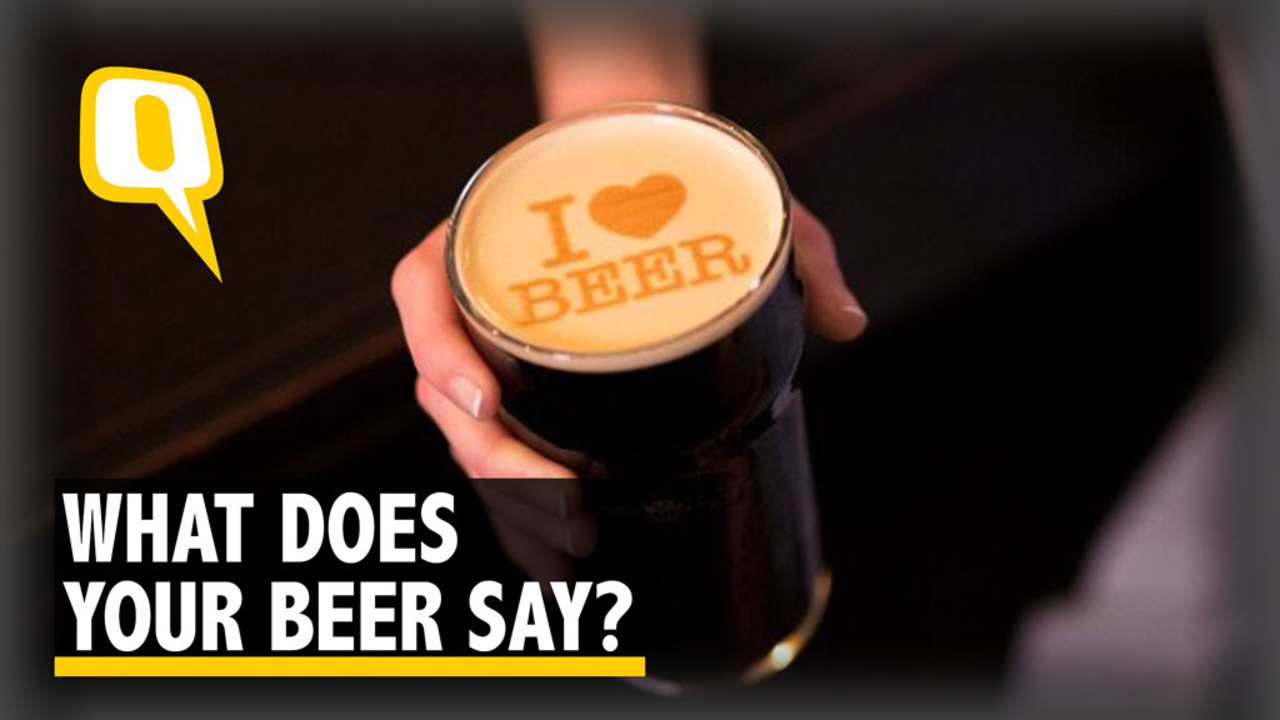 What Does Your Beer Say?