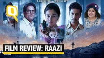 Sans Any Filmy Bravado, Alia Is Heart-Breakingly Honest in 'Raazi'