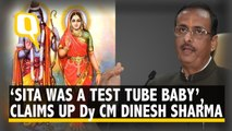 'Sita was a test-tube baby', UP Deputy Chief Minister's bizzare claim