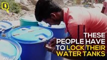 Ajmer water crisis forces residents to lock water tanks
