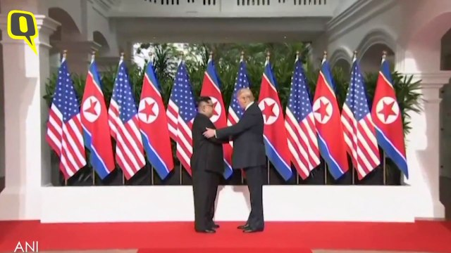 Trump meets Kim-Jong-Un in historic summit at Sentosa, Singapore
