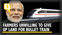 PM Modi's Bullet Train yet to fire, instead draws farmers' ire