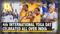 4th International Yoga Day Celebrated With Fervor All Over India