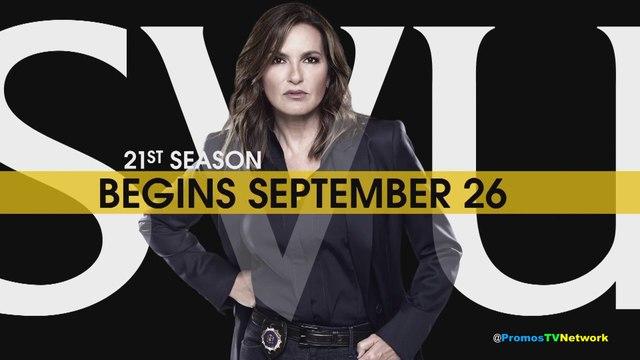 "Law & Order: SVU Season 21st (NBC) ""Returns This Fall"" Promo (HD)"