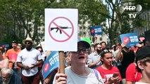 Rassemblement contre les violences par armes à feu à New York