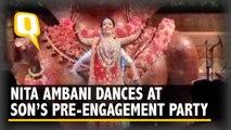 Nita Ambani Performs at Son's Pre-Engagement Ceremony