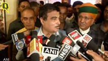 Nitin Gadkari Defends Sushma Swaraj, Slams Online Trolls