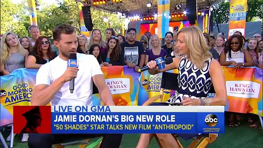 Jamie Dornan Promote New Movie Anthropoid