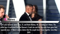 Jamie Foxx & Katie Holmes Split After He's Pictured Holding Hands With Singer Sela Vave