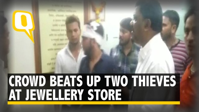 Two Men Open Fire in Bid to Rob Jeweller, But Get Beaten By Crowd