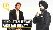 Sidhu Hopes Imran Khan's Victory Proves Good for India-Pakistan Ties