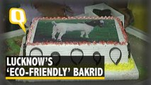 This Bakrid, Some in Lucknow to Cut Goat Cake Instead of Real Goat | The Quint