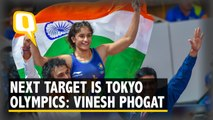 Next Target Is Tokyo Olympics: Vinesh Phogat After Returning Home