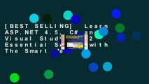 [BEST SELLING]  Learn ASP.NET 4.5, C# and Visual Studio 2012 Essential Skills with The Smart Met: