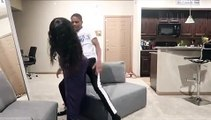 Une femme jalouse se transforme en ninja