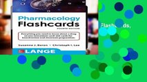 [GIFT IDEAS] Lange Pharmacology Flashcards, Fourth Edition